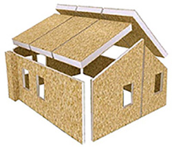 Affordable energy efficient building solutions for for Sips panel prices